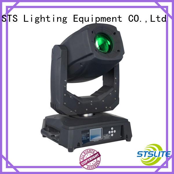 lighting dj moving head lights auto-mode for concerts STSLITE