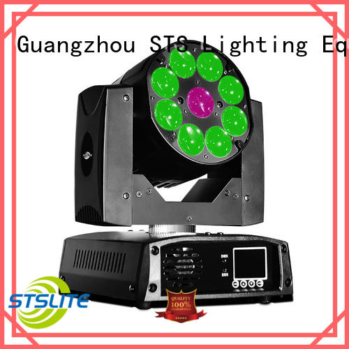 STSLITE rich saturated colours wash moving head light maker for TV studio,
