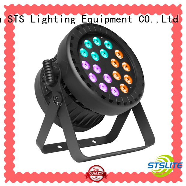 compact size par can lights for weddings zoom effect for show STSLITE