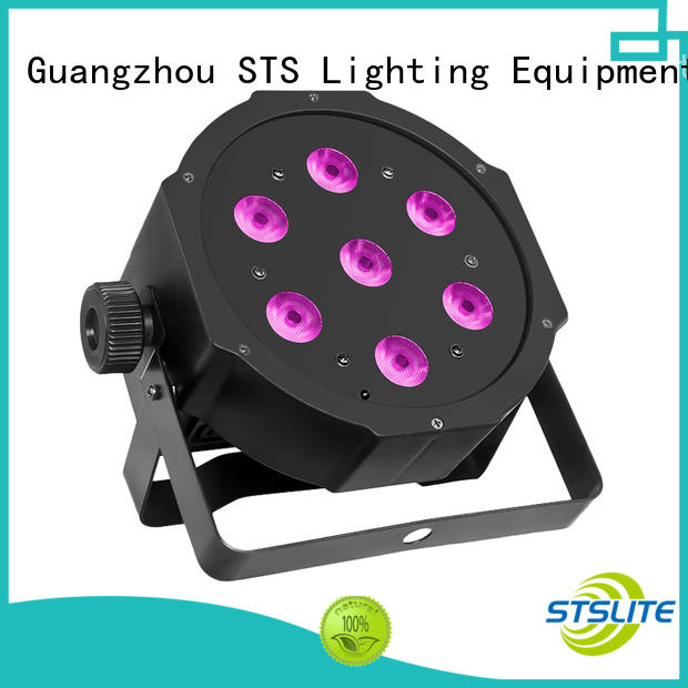 professional dmx par led zoom effect for events