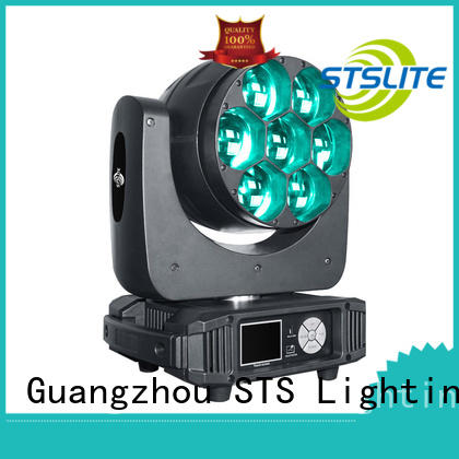STSLITE rich saturated colours best led wash lights maker for TV studio,