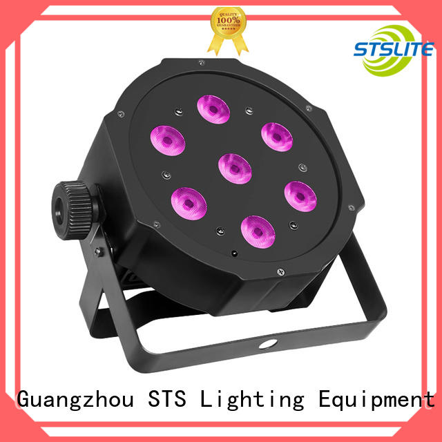professional par stage lights 7pcs supplier for stage