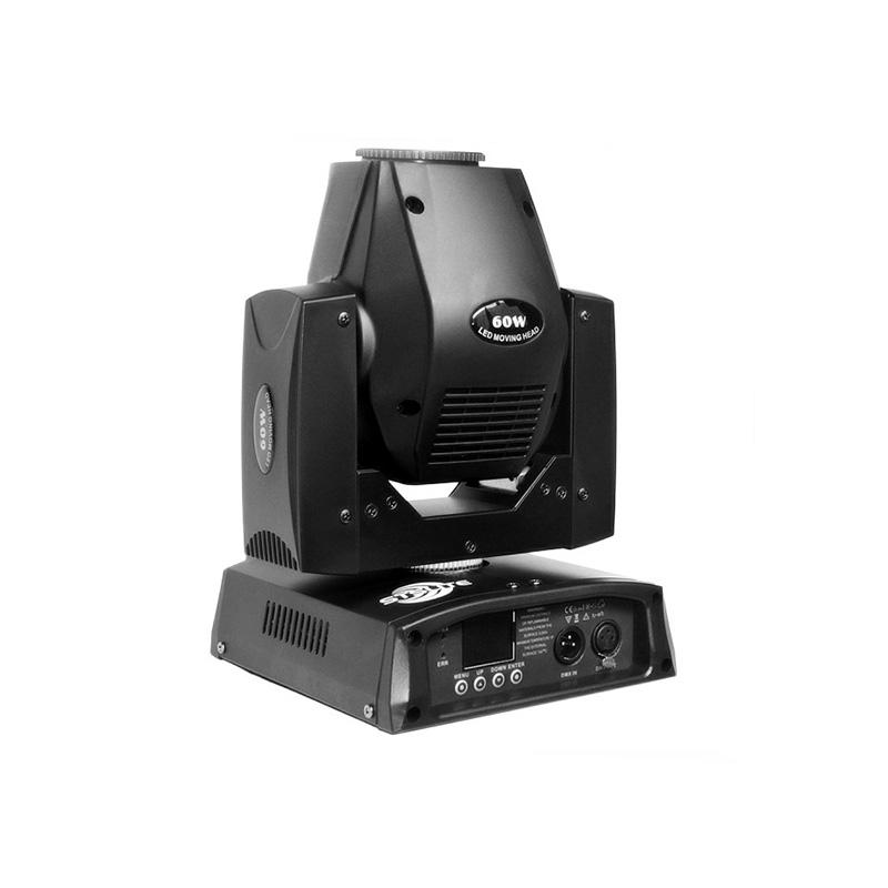 Mini Moving Head Spot LED_M SPOT 60 Mini Stage lights  60W LED Spot bar dj lighting