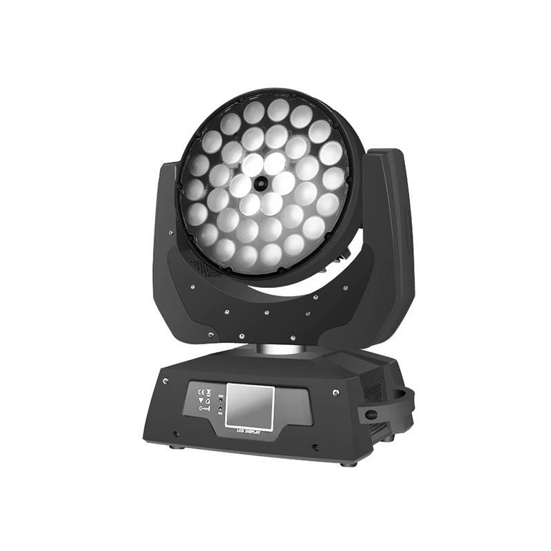 Moving Head Wash LED_M WASH 368Z 36pcs 8W RGBW 4-in-1 LED Wash Zoom lighting