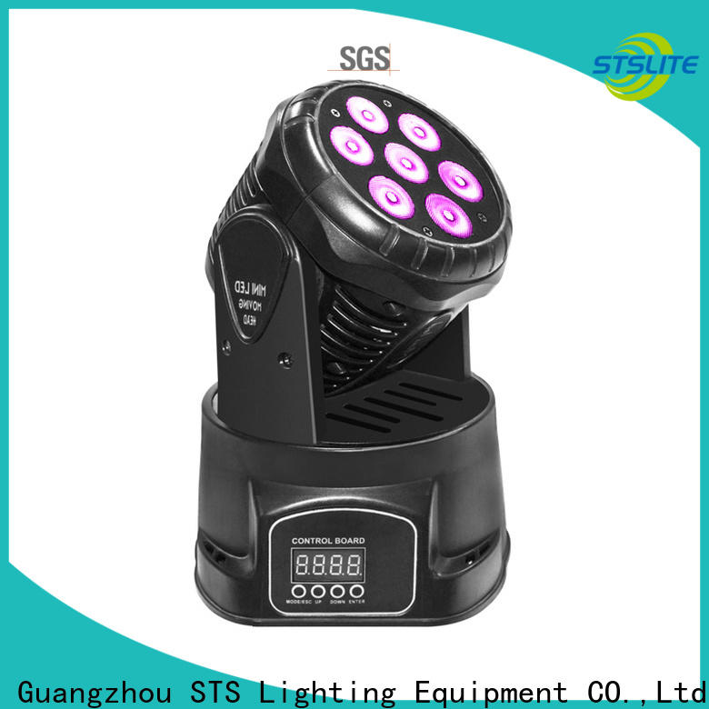 rich saturated colours moving head ip65 show maker for theatre,
