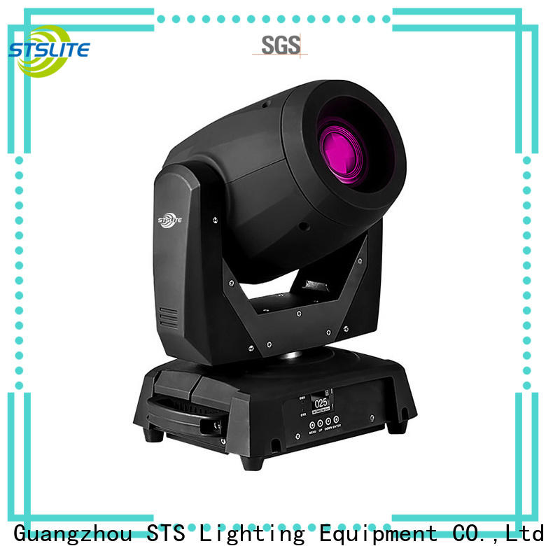 STSLITE moving moving light beam versatility for churches
