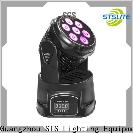 brightness par 64 led beam lighting for TV studio,