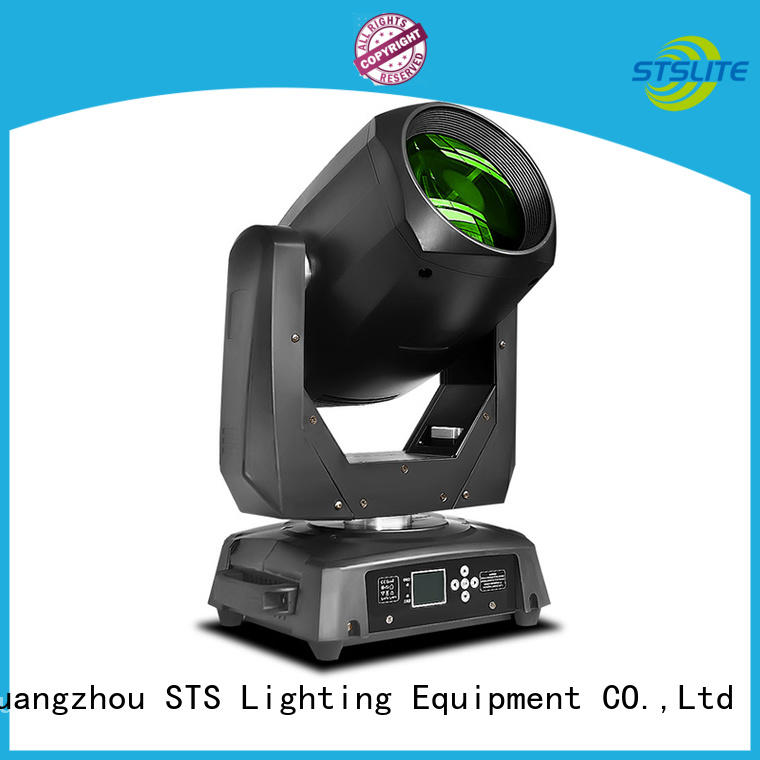 STSLITE color wheel led beam moving head head spot for DJ