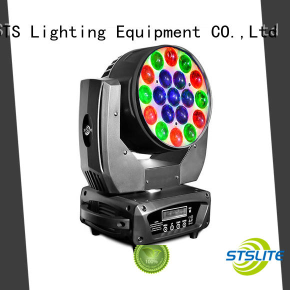 STSLITE rich saturated colours moving light wash factory price for TV studio,