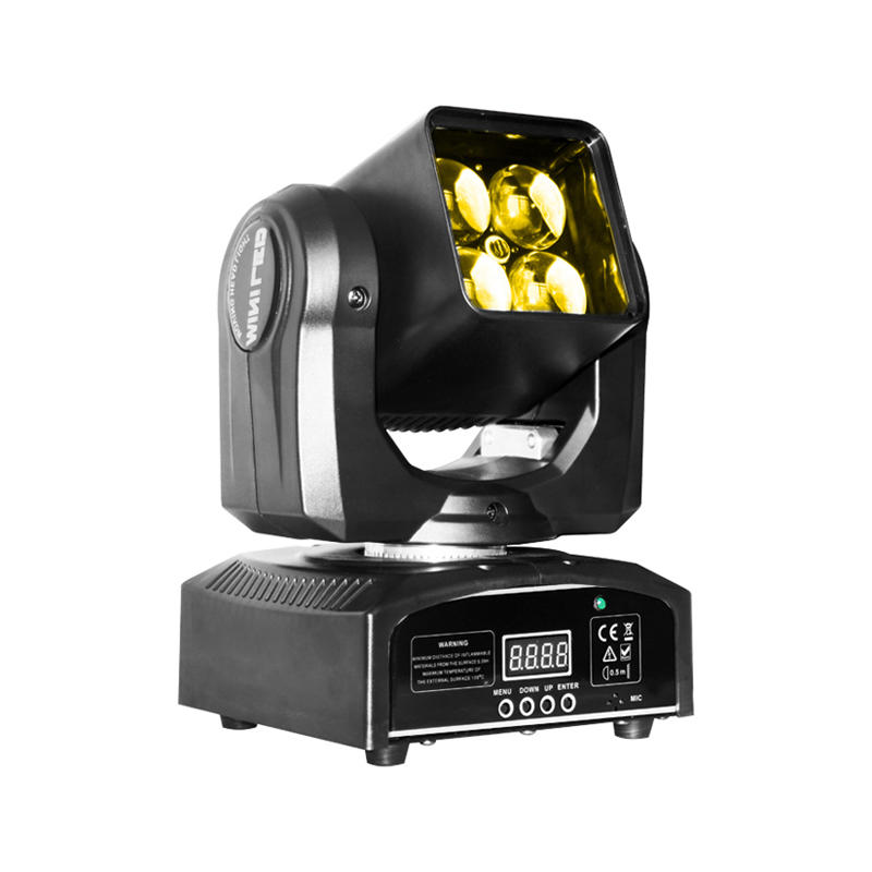 Moving Heads 420Z 4pcs 50W RGBW 4-In-1  LED ZOOM WASH Light