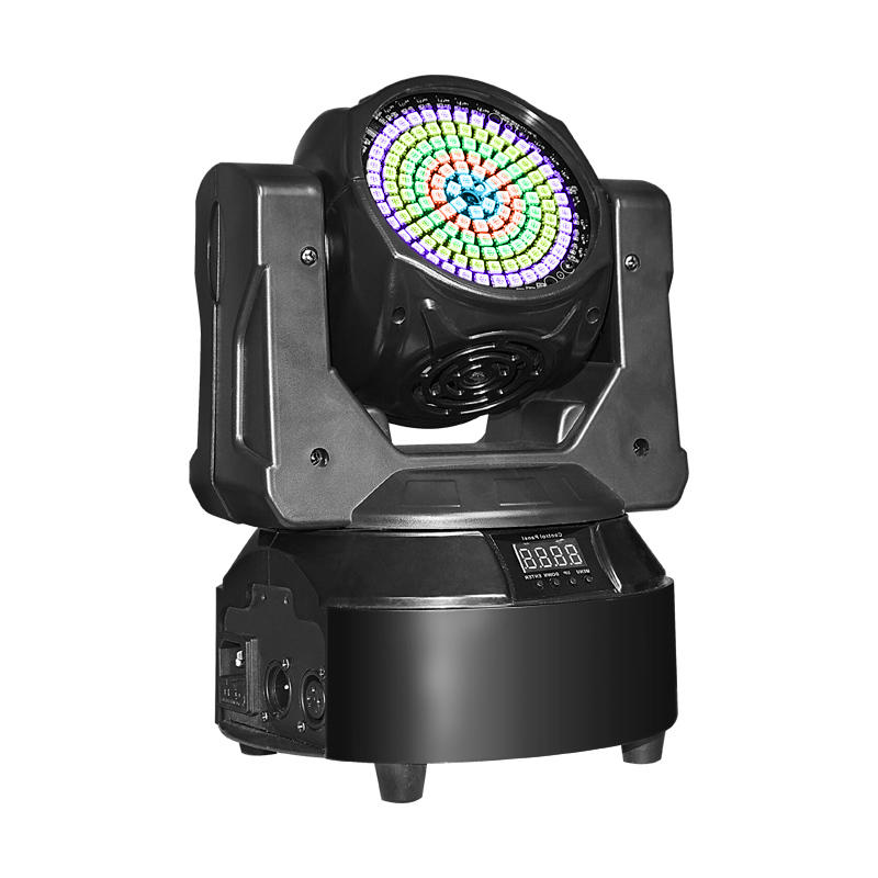 Mini Moving Head Double Face Unlimited 5in1 DJ Led Stage Spotlights