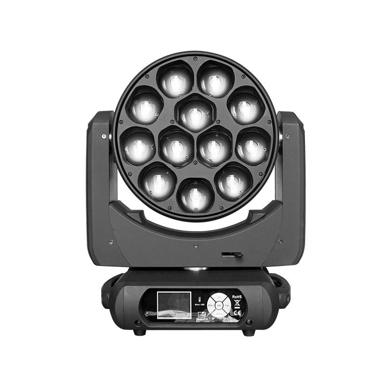 Moving Head Wash LED_M WASH 1240Z 12pcs 40W RGBW 4-in-1 OSRAM LED ZOOM WASH Light
