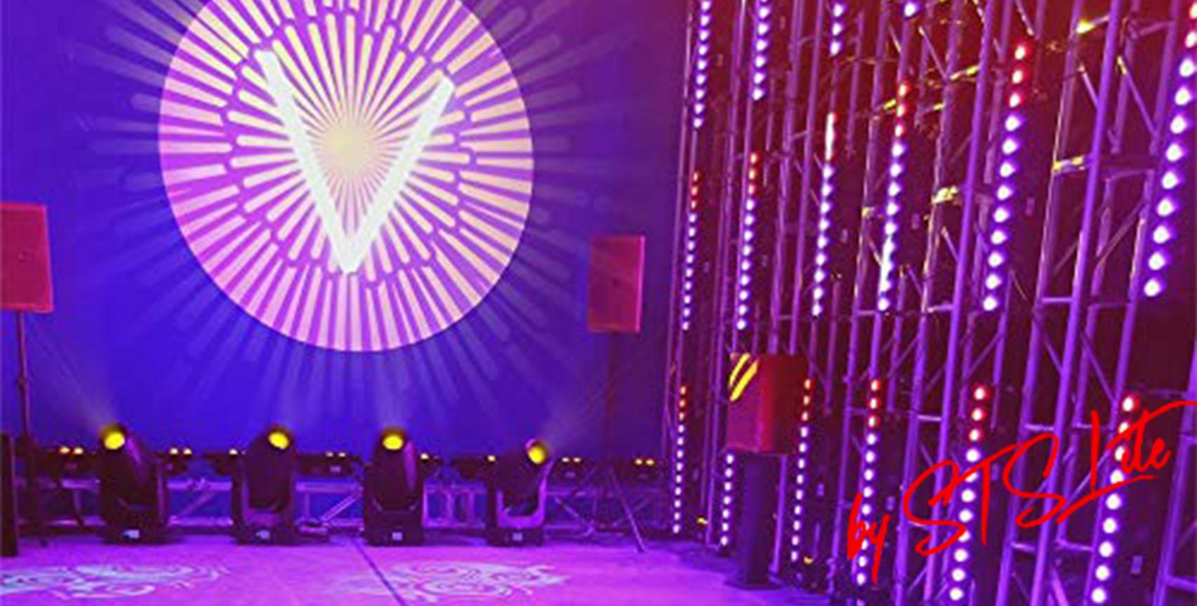 led stage lighting