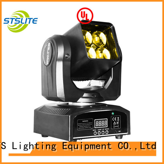 STSLITE colorful moving beam light performance for bar