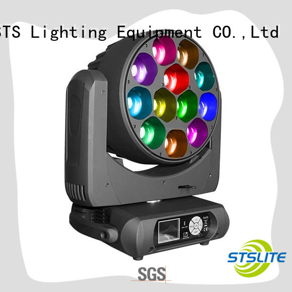 STSLITE rich saturated colours moving head gobo lighting for discotheques